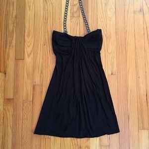 Sky Women's Black Halter Size XS